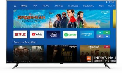 MI 4X 163.9 cm (65) Ultra HD (4K) Smart Android LED TV Image