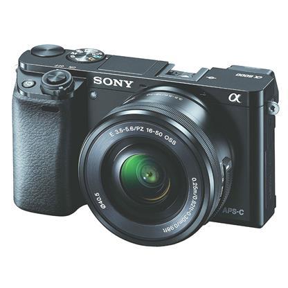 Sony Alpha ILCE 6000L DSLR Camera (16-50mm) Image