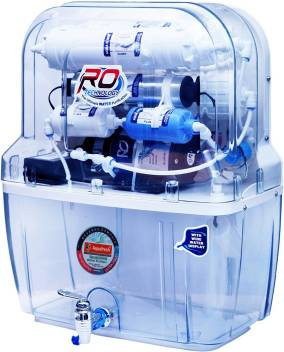 Aqua Fresh transparent Model 15L RO+UV+UF+TDS Water Purifier Image