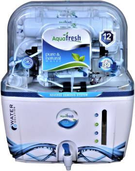 Aqua Fresh wave x MINERAL+ro+uv+uf+tds 15L 15L RO+UV+UF+TDS Water <br />Purifier Image