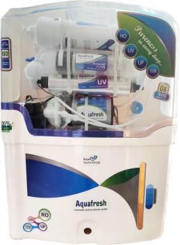 Aqua Fresh White TPT 15Litres R0+UV+Alkaline 15L RO Water Purifier Image