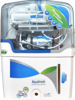 Aqua Fresh With+Mineral+Cartage+NYC+Model 15L RO+UV+UF+TDS Water <br />Purifier Image