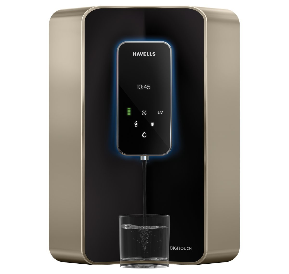 Havells DIGITOUCH 100% RO & UV WITH & pHLEVEL MAINTAINED 7L RO+UV Water <br />Purifier Image