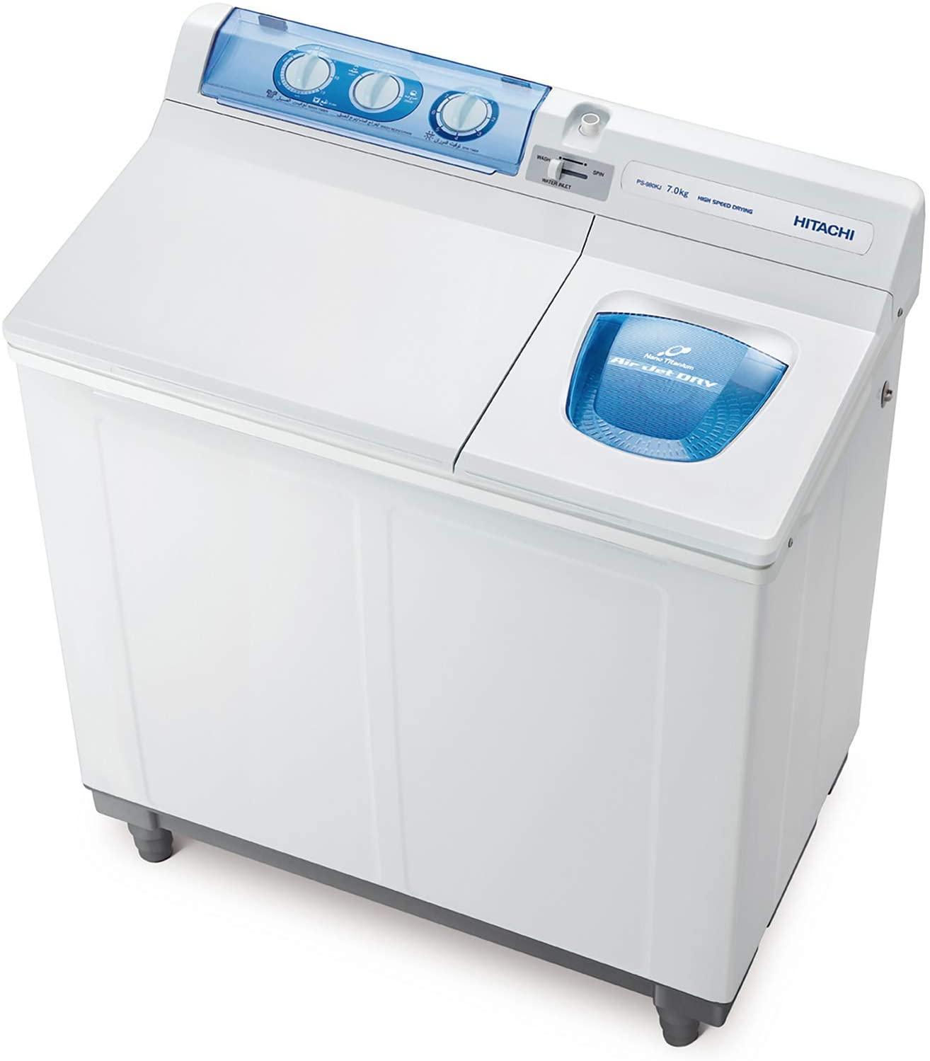 Hitachi 7 kg Semi Automatic Washing Machine Image
