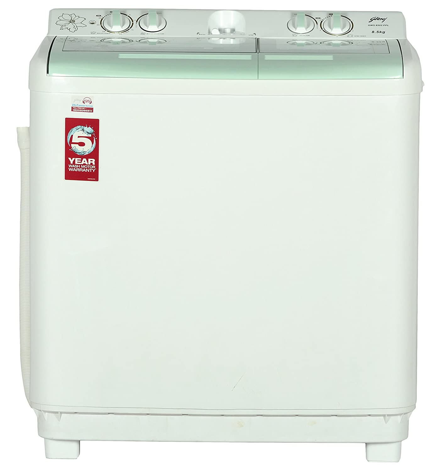 Godrej 8.5Kg Semi Automatic Washing Machine GWS8502 PPL Image