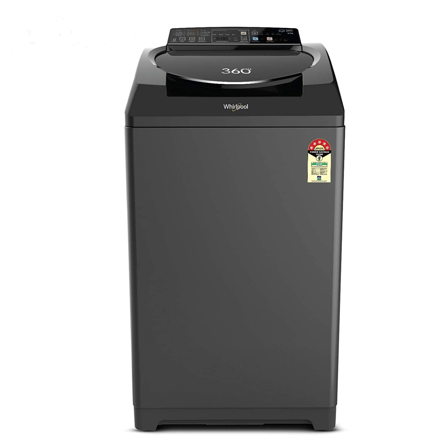 Whirlpool 0Kg Fully Automatic Washing Machine Graphite 360 Ultimate Care 12 Image