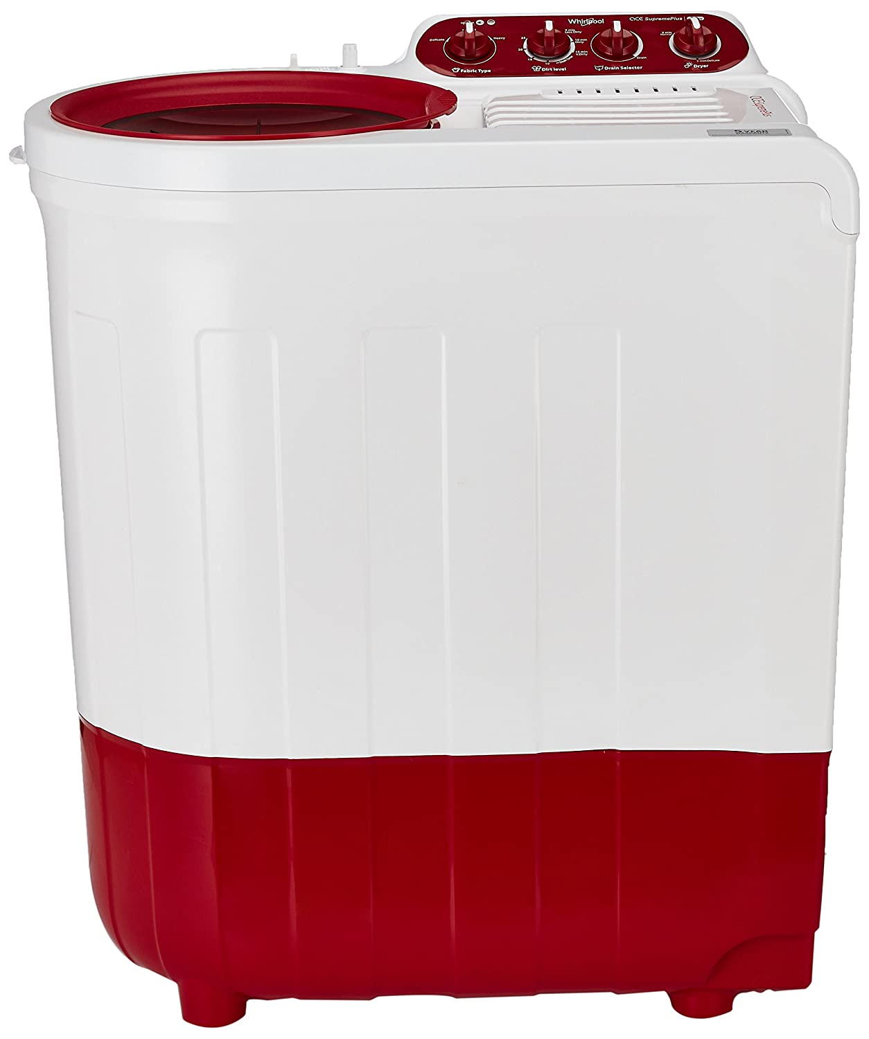 Whirlpool 7Kg Semi Automatic Washing Machine Coral Red Ace 7.0 Supreme Plus Image