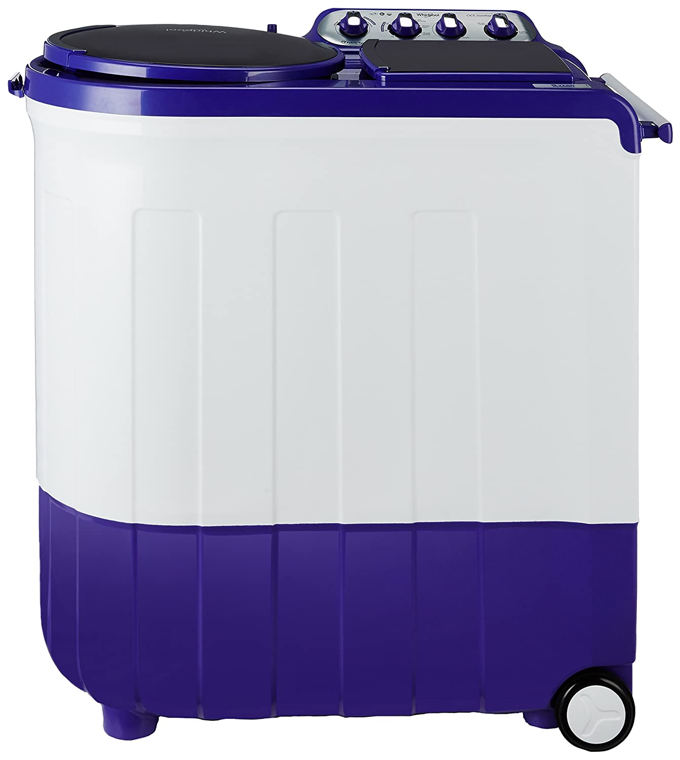 Whirlpool 8Kg Semi Automatic Top Loading Washing Machine Coral Purple ACE 8.0 TURBO DRY Image