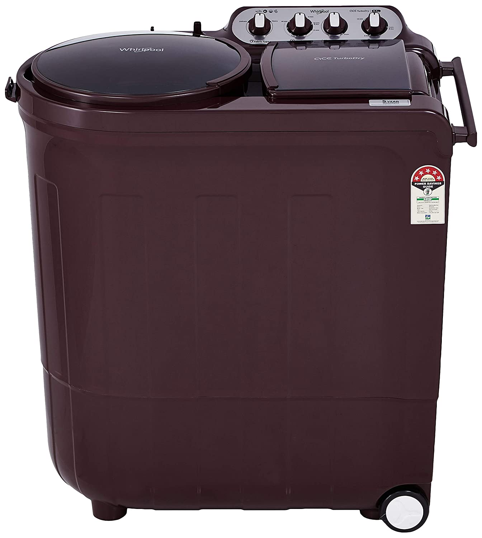 Whirlpool 8.5Kg Semi Automatic Washing Machine 5YR Wine Dazzle ACE 8.5 Turbo Dry Image