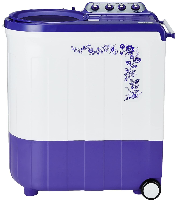 Whirlpool 7.5Kg Semi Automatic Washing Machine Flora Purple Ace TurboDry Image