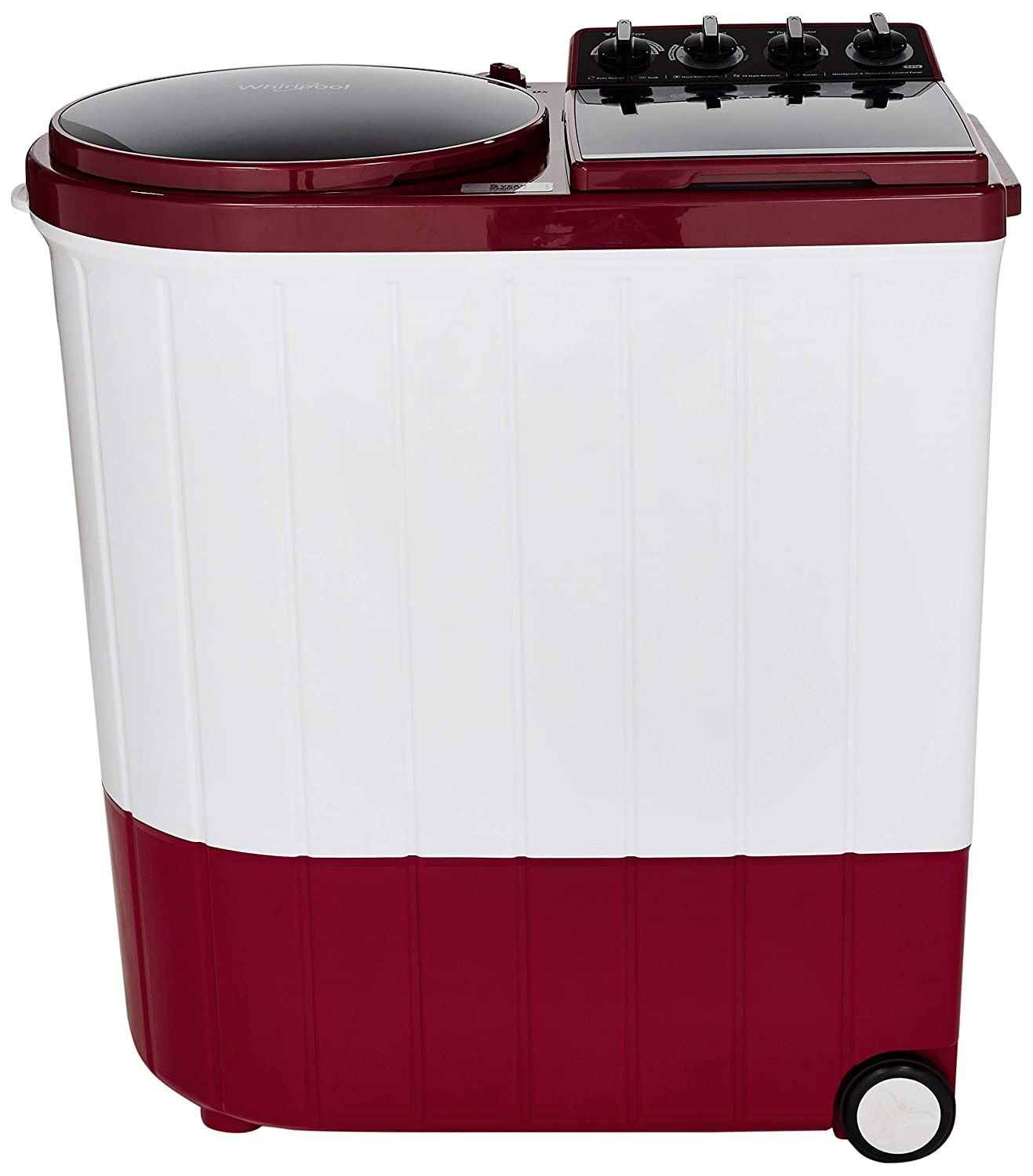 Whirlpool 5Kg Semi Automatic Washing Machine Coral Red Ace XL 9 Image