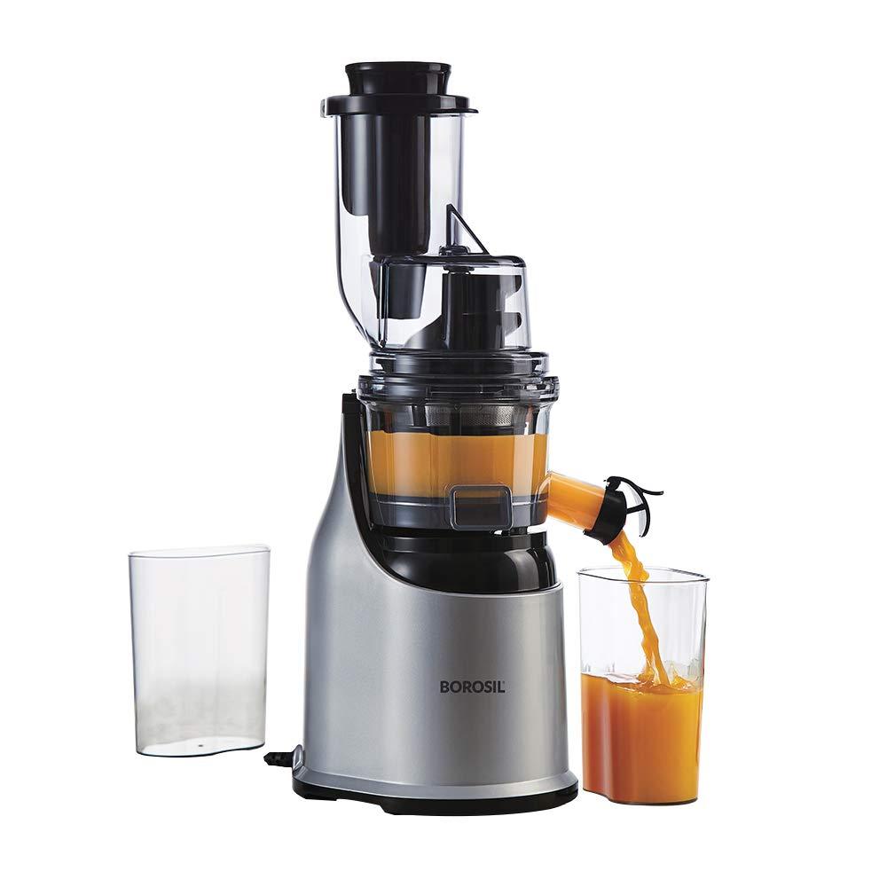 Borosil Health Pro Cold Press Slow Juicer 200W Image