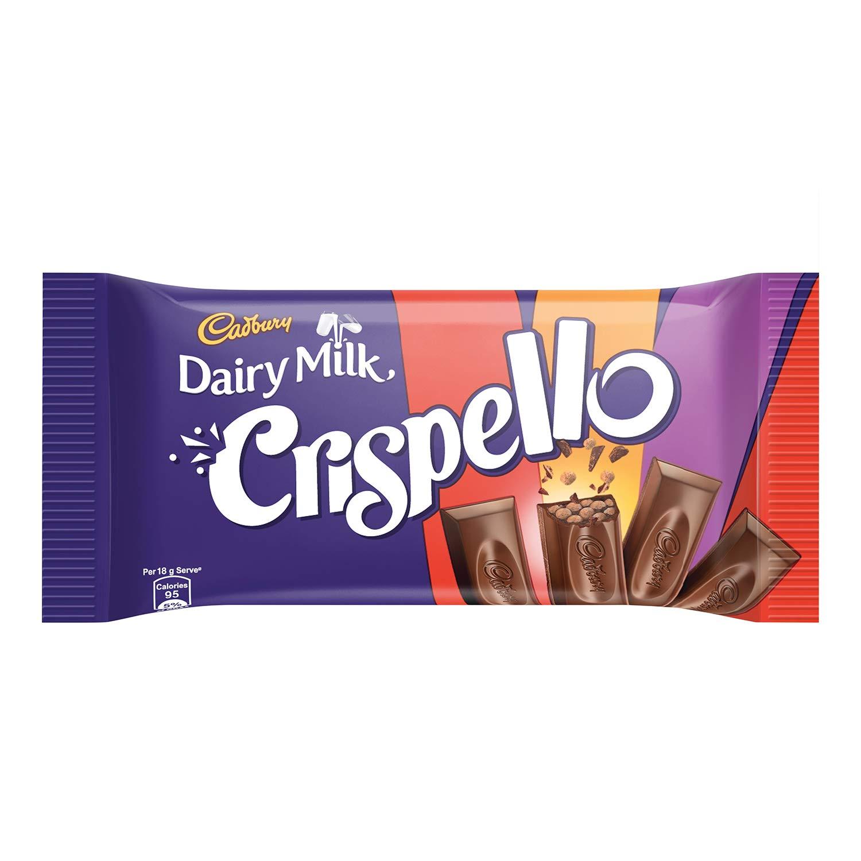 Cadbury Dairy Milk Crispello Chocolate Bar Image