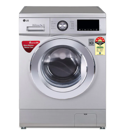 LG 7.0 kg FH2G6TDNL42, 6 Motion Direct Drive Washer Front Load Washing Machine Image