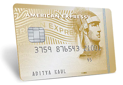 American Express Gold Credit Card Image