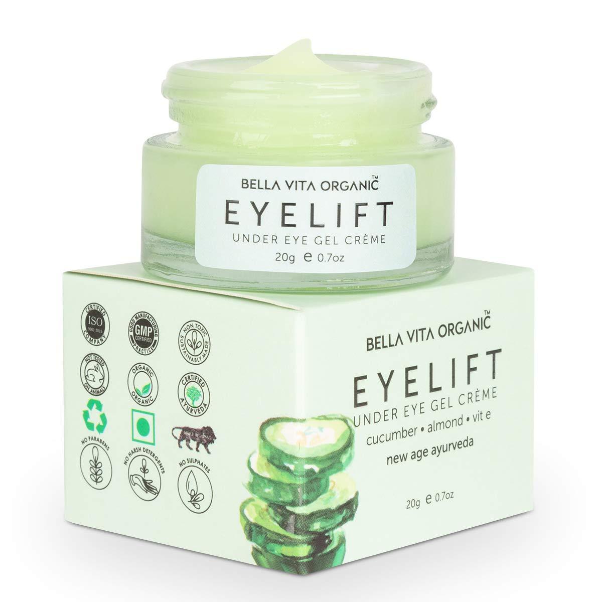Bella Vita Organic Eyelift Eye Cream Gel Image