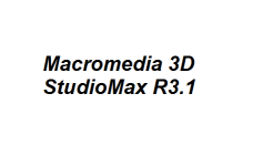 Macromedia 3D StudioMax R3.1