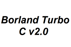 Borland Turbo C v2.0