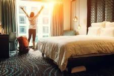 Enjoying the Hotel Stay