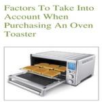 Choosing an Oven / Toaster