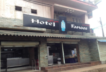 Hotel Fanoos - Richmond Town - Bangalore