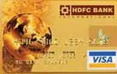 HDFC Bank Visa Credit Card