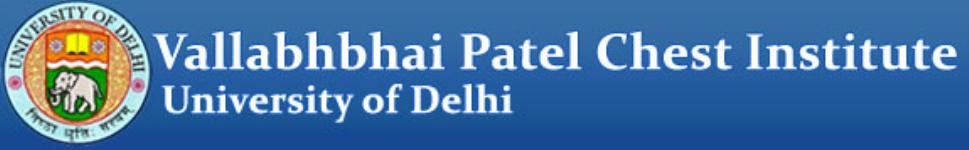 Vallabhbhai Patel Chest Institute-Delhi