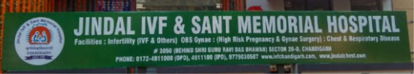 Jindal I V F and Sant Memorial Nursing Home - Chandigarh