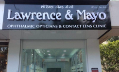 Lawrence and Mayo Contact lens