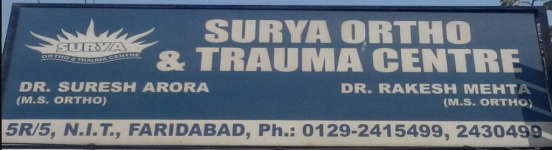 Surya Ortho and Trauma Centre - Faridabad