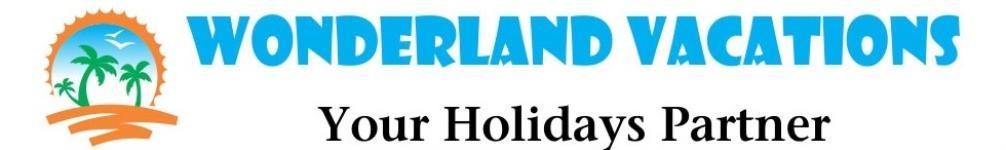 Wonderland Holidays India Pvt Ltd