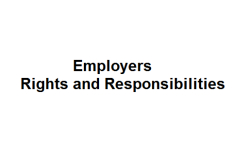 Employers Rights and Responsibilities