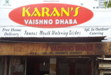 Karan Vaishno Dhaba - Ramesh Nagar - Delhi NCR