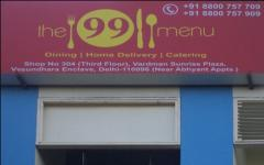 The 99 Menu.com - Vasundhara Enclave - Delhi NCR