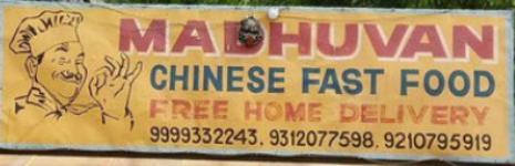 Madhuvan Chinese Fast Food - Yusuf Sarai - Delhi NCR