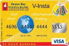 Vijaya Bank Visa Credit Card