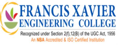 Francis Xavier Engineering College - Tirunelveli