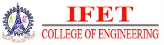 IFET College of Engineering - Villupuram