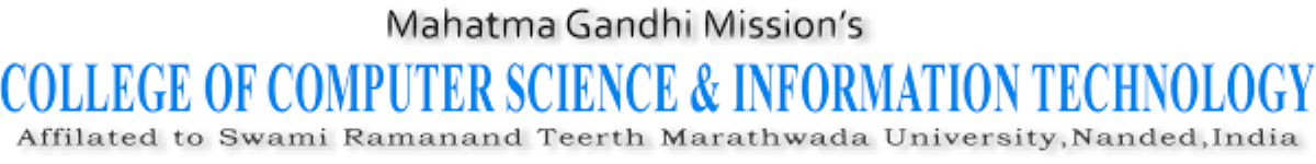 Mahatma Gandhi Mission College of Computer Science and Information Technology - Parbhani