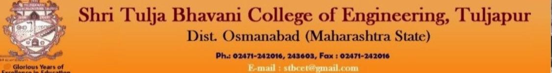 Shri Tulja Bhavani College of Engineering - Osmanabad