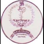 R.K.S.D. College of Pharmacy - Kaithal