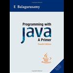 Programming With Java: A Primer - E Balagurusamy
