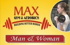 Max Fitness Gym - Vaishali - Ghaziabad