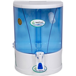 Wellon Credible Premium Uv+Uf+Mineral+Tds Controller 10 L RO Water Purifier