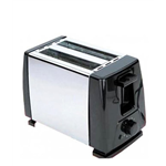 Bansons SS Body 2 Slice Pop Up Toaster