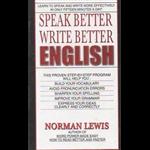 Speak Better Write Better English - Norman Lewis
