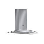 Bosch DWA09D751I Chimney with Glass - 90 cm