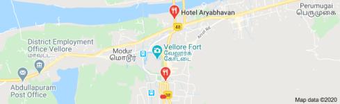 New Arya Bhavan Hotel - Anna Salai - Vellore