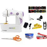 CreativeVia Exclusive Mega Fully Loaded With Accessories Portable Electric Electric Sewing Machine