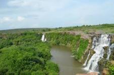 Ettipotala Water Falls - Nagarjunsagar